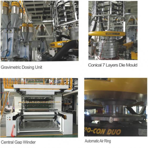 Barrier Film Blowing Machine